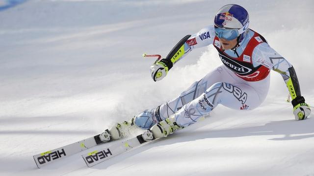 La skiunza Linsey Vonn.