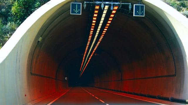 Ein Tunnelportal