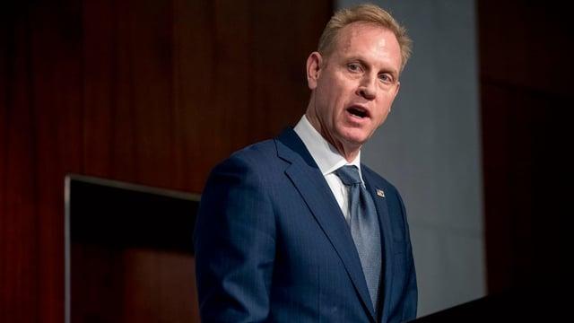 Der geschäftsführende Verteidigungsminister Patrick Shanahan.