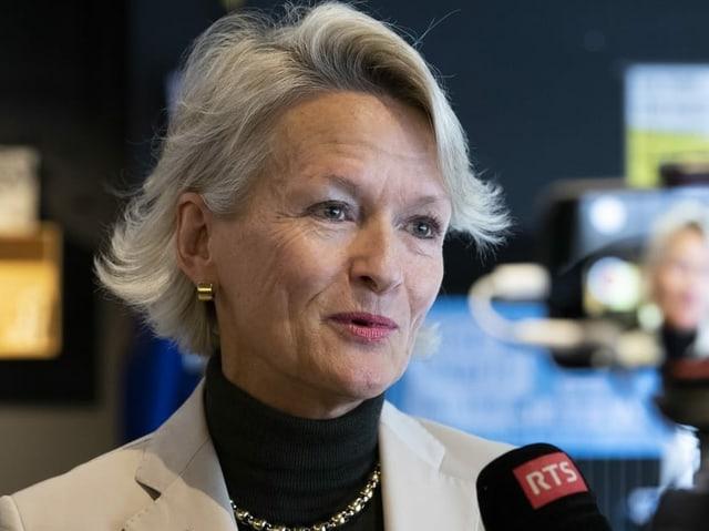 Die Luzerner Ständerätin und Mitte-Fraktionspräsidentin Andrea Gmür.