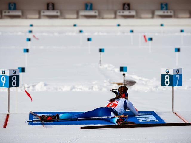 Die Schweizer Team-Seniorin Selina Gasparin.