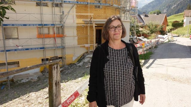 Beatrix Vital, la presidenta communala da Masagn e presidenta da la cocietad cooperativa Chasa da generaziuns Masagn.