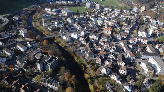 Luftbild Wattwil
