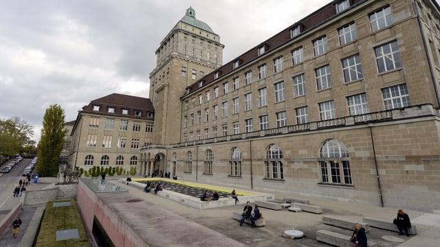 Gebäude der Uni Zürich