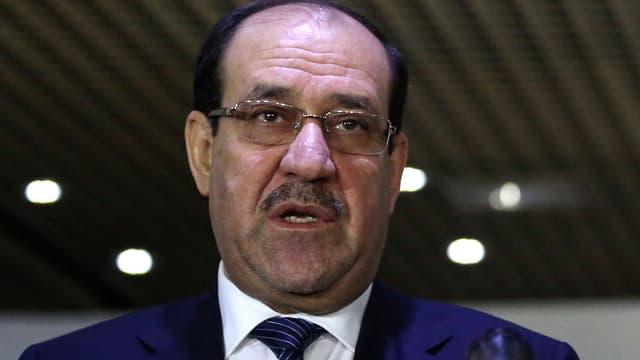 Portrait Nuri al-Malikis