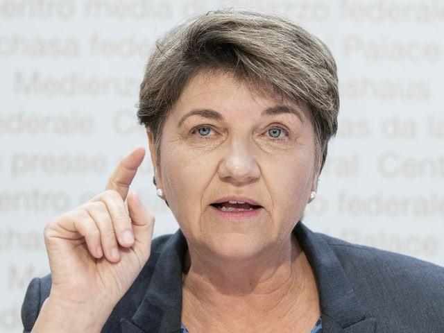 Sportministerin Viola Amherd.