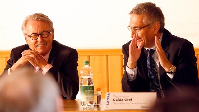 Bild während der Medienkonferenz