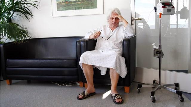 Wie das Kantonsspital Aarau mit renitenten Patienten umgeht