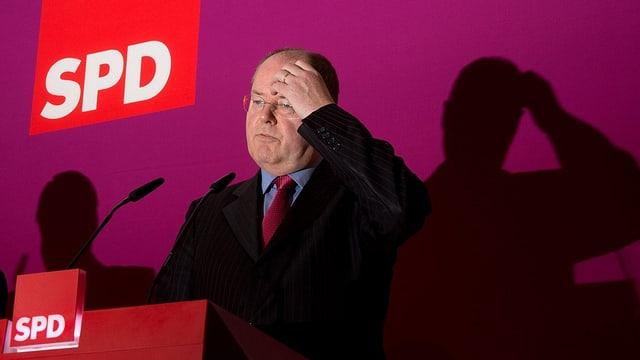 SPD-Kanzlerkandidat Peer Steinbrück.