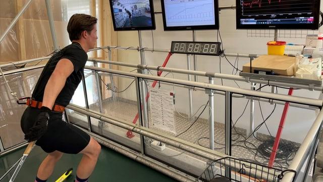 Recruta da sport: Test da prestaziun cun Cla-Ursin Nufer