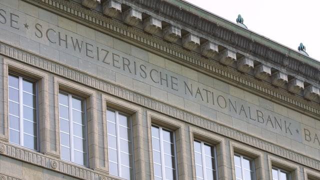 Fassade der Schweizerischen Nationalbank