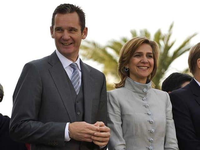 Cristina Borbón und Ehegatte Iñaki Urdangarín
