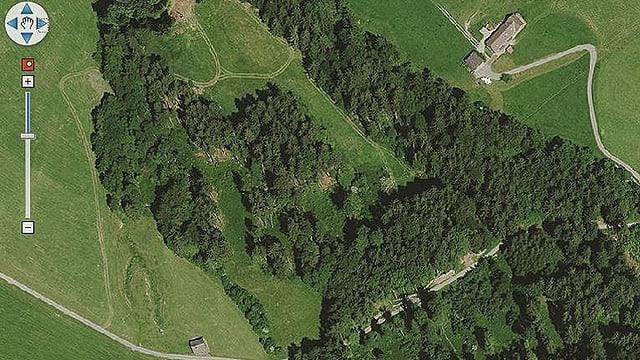 Orthofoto von Appenzell Ausserrhoden