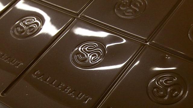 Mehr als eineinhalb Tonnen Schokolade hat Barry Callebaut in den ersten drei Quartalen 2018 produziert.