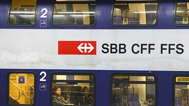 Doppelstockzug der SBB