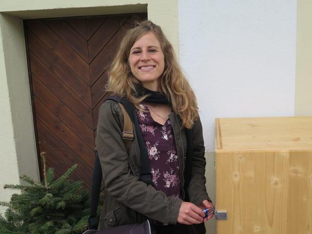 Projektleiterin Marion Sinniger