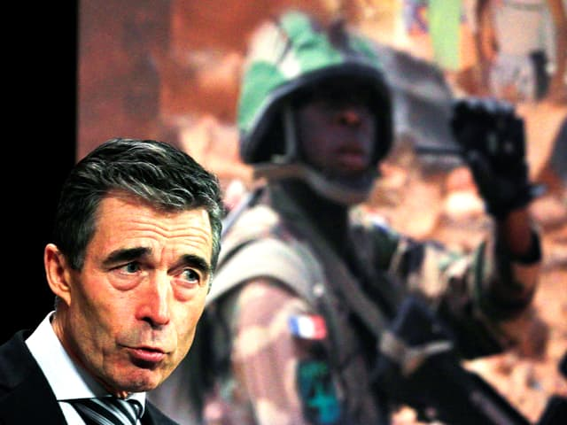 Portrait des ehemaligen Nato-Generalsekretärs Anders Fogh Rasmussen.