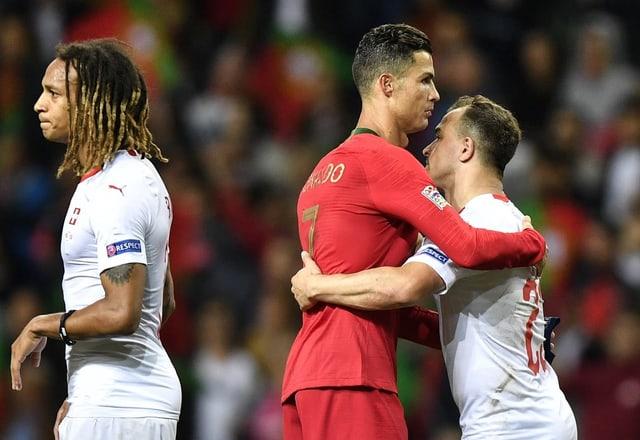 Mbabu hadert, Ronaldo tröstet Shaqiri.