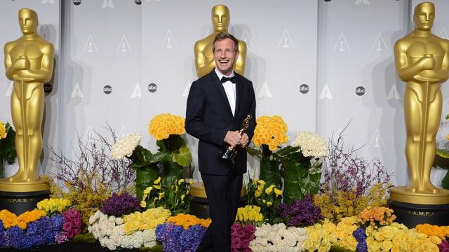 Spike Jonze mit Oscar.