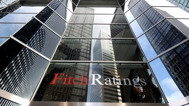 Das Bürohaus von Fitch Ratings in New York