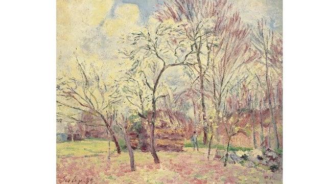 Das Gemälde «Premier Jour de Printemps à Moret» des französischen Impressionisten Alfred Sisley gehört der jüdischen Familie Lindon.