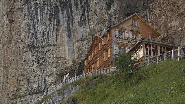 Video «Berggasthaus Aescher-Wildkirchli (WH)- Tag 5» abspielen