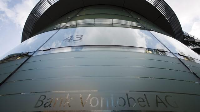 Il baghetg da la banca privata Vontobel.