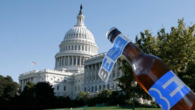 Capitol a Washington (montascha: dretga ina biera da Tschlin)