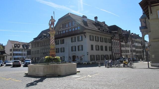 Thutplatz in Zofingen.