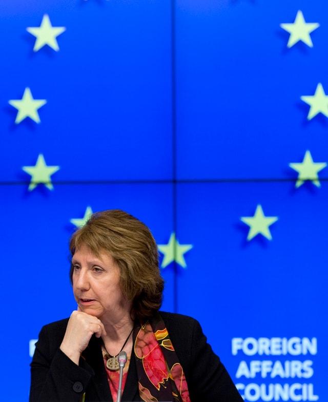 Portrait von Catherine Ashton