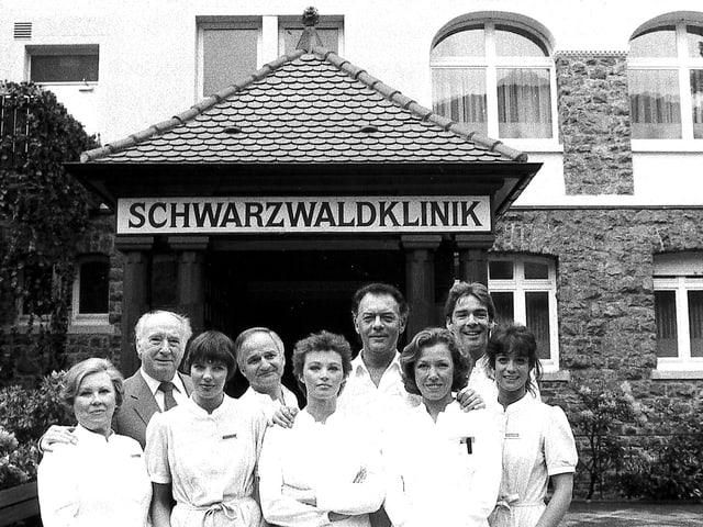 Die «Schwarzwaldklinik»-Crew 1985: In ihren besten Zeiten hatte die Serie 60 Prozent Marktanteil.