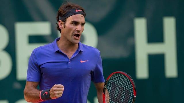 Roger Federer sa legra