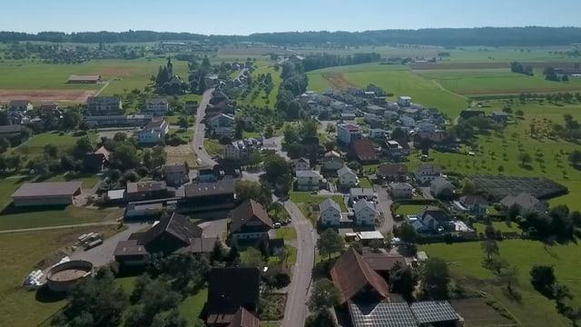Der alte und der neue Teil von Schongau