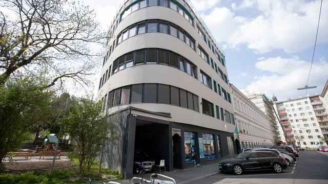 Das Gebäude mit dem Atib-Kulturzentrum, das Mitte April für Aufregung sorgte.
