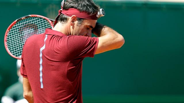 Roger Federer manchenta er il turnier a Madrid.