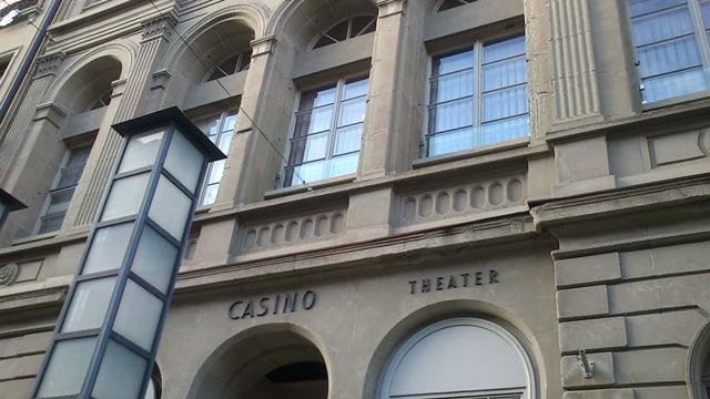 Fassade des Casino-Theaters Burgdorf