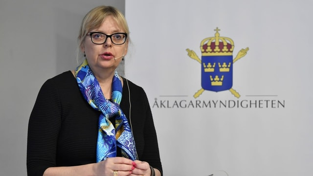 Purtret da Eva-Maria Persson.