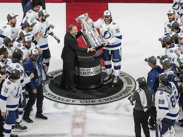 Stanley-Cup-Sieger Tampa Bay Lightning.