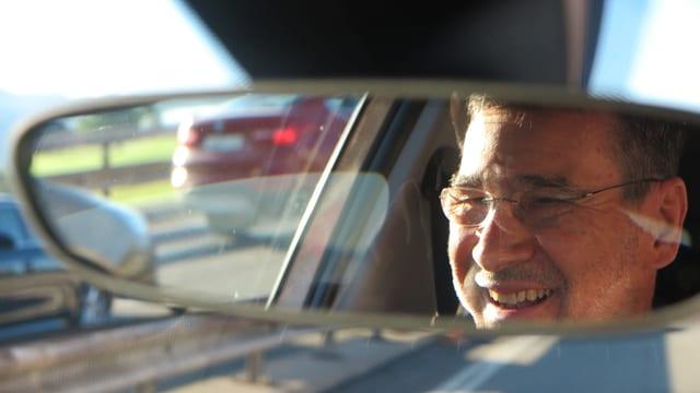 Porträt im auto