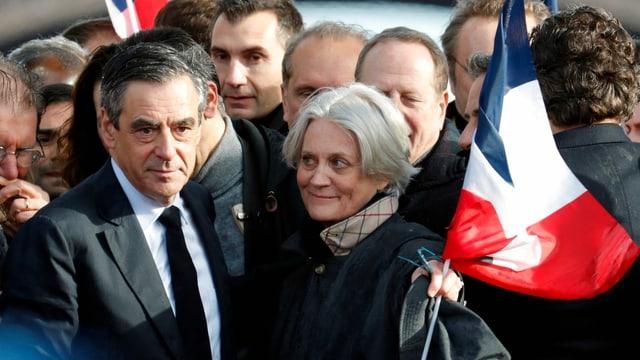 Francois und Penelope Fillon