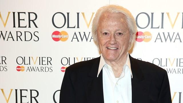 Robert Vaughn 2014 bei einer Preisverleihung in London.