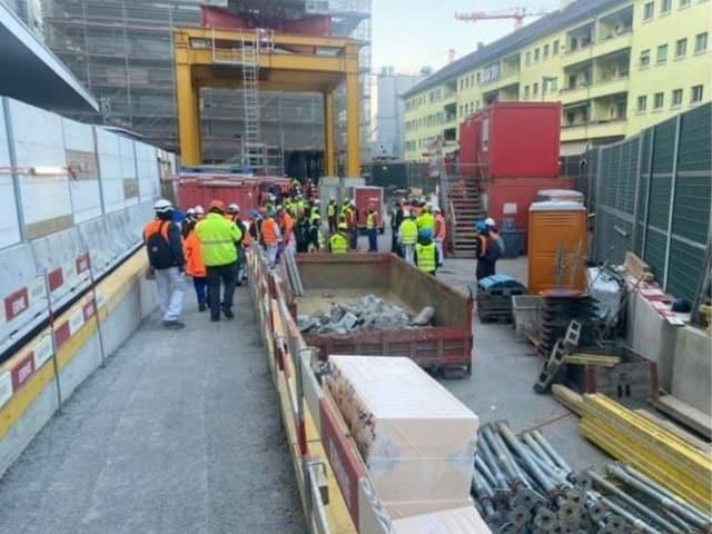 Bild von Baustelle
