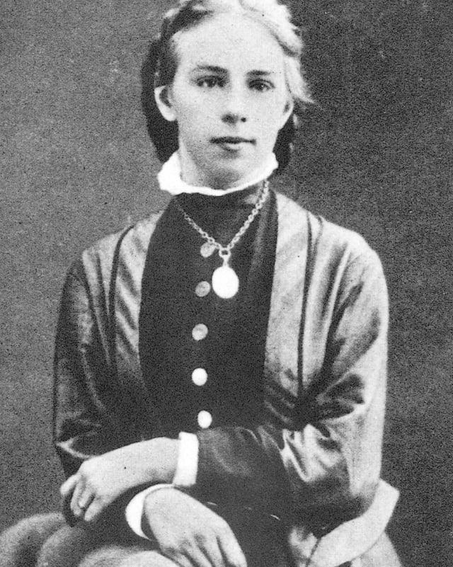 Historisches Porträt von Emily Kempin-Spyri.