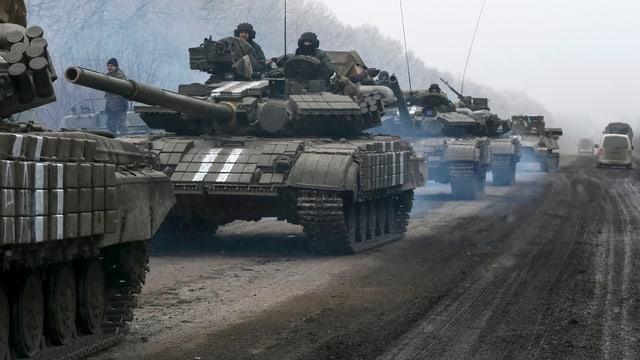 Panzer der ukrainischen Armee