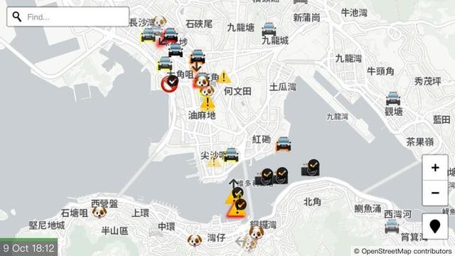 Diskpay der verbotenen App HKlive.