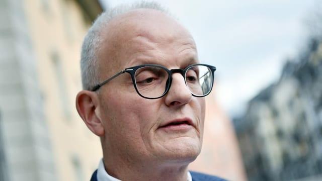 Portrait von Staatsanwalt Ulrich Krättli.