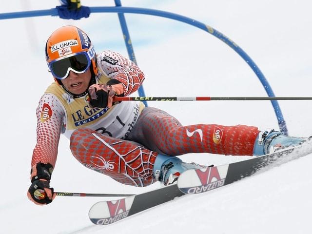Am 17. März 2007 bestreitet Marcel Hirscher beim Weltcup-Final auf der Lenzerheide sein erstes Weltcuprennen.