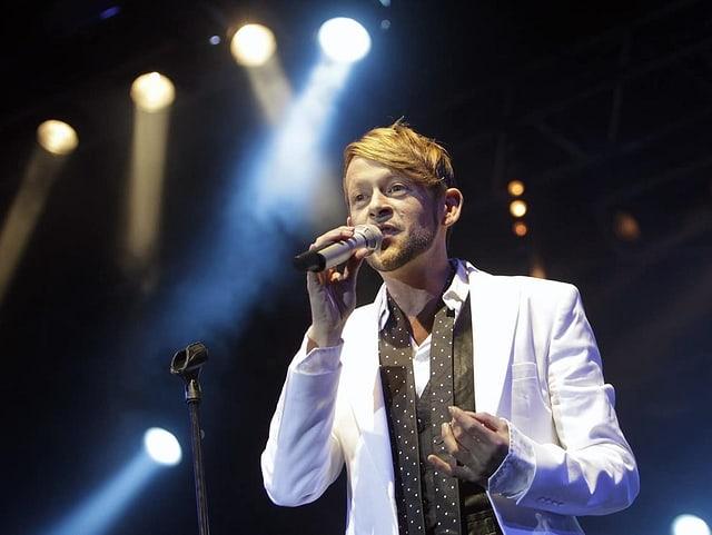 Michael von der Heide ist am 27. Dezember 2019 live zu Gast bei SRF 1.