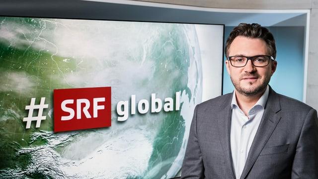 Sebastian Ramspeck, Moderator «#SRFglobal»