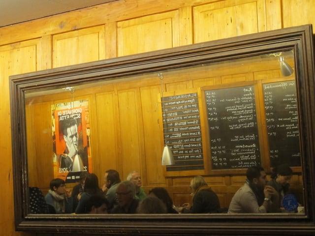Blick ins Restaurant Kreuz in Solothurn